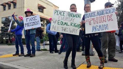 Make America Think Again - Rally in Watsonville