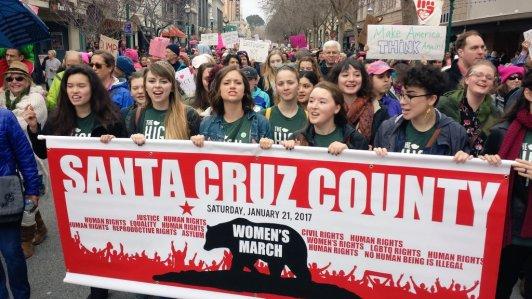 Santa Cruz County Women's March