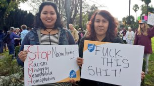 FUCK THIS SHIT! - Rally in Watsonville