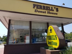 Ferrell's Donut House Across from New Dunkin' Donuts