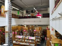 Two floors of Logos Books and Records at 1117 Pacific Avenue in downtown Santa Cruz. August 10, 2017.