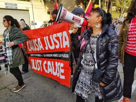 Causa Justa: ¡El Pueblo No Se Vende!