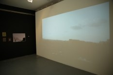 Installation shot, Liberated Scores series and Karachi Triptych (film)