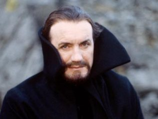 Anthony Ainley as the Master in 'The Five Doctors'.