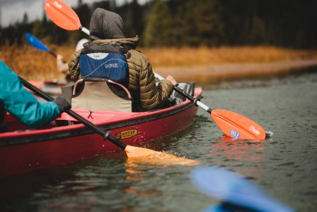 Adaptive kayaking