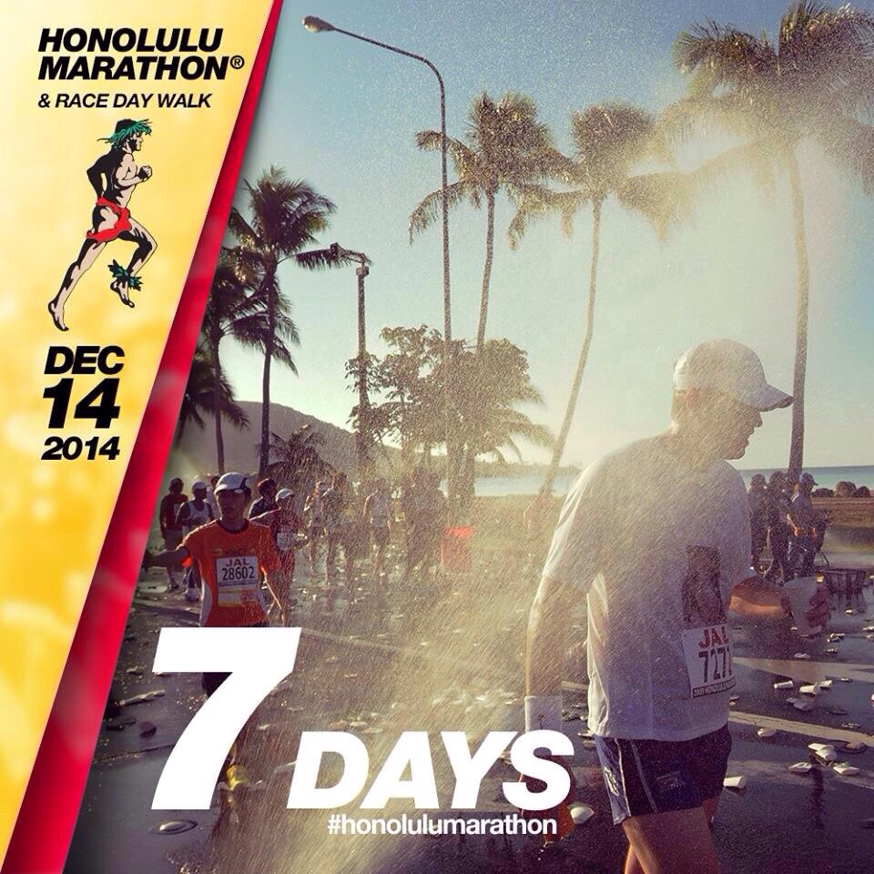 The Countdown is On – 1 week to Hawaii
