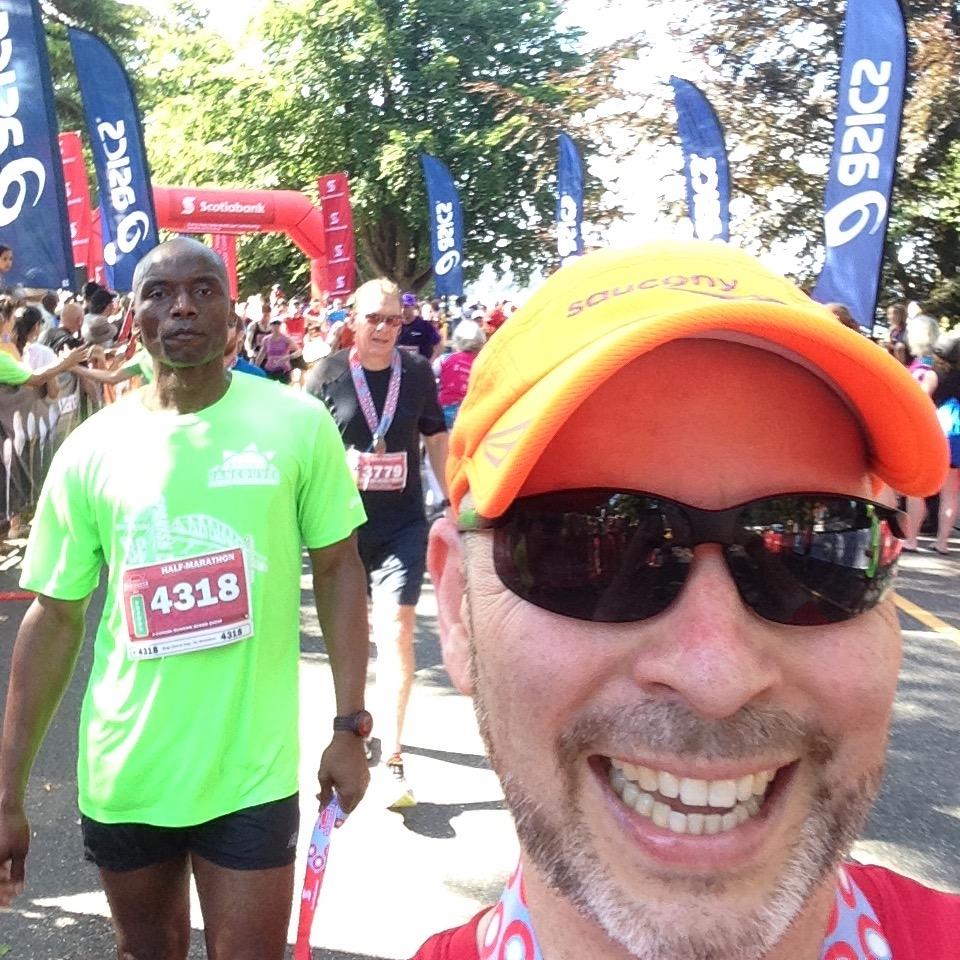 Scotiabank Vancouver Half Marathon 2015