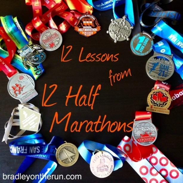 12 Half Marathons