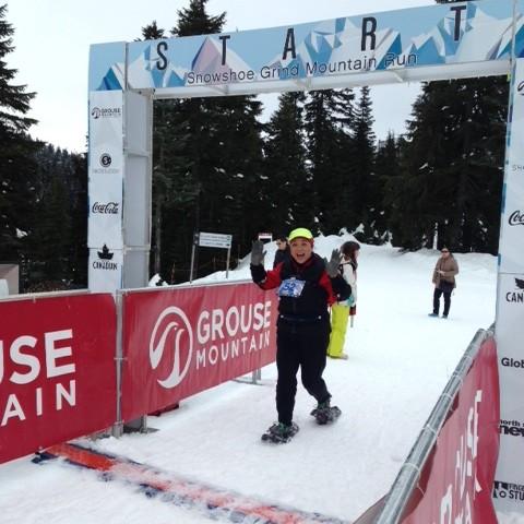 Grouse Snowshoe Grind Mountain Run