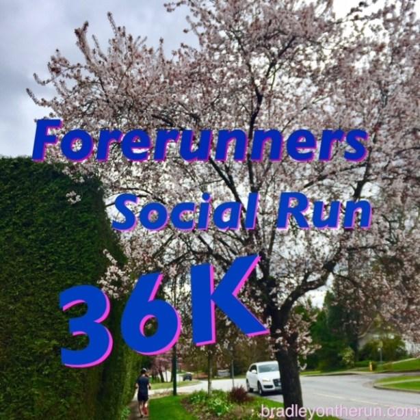Forerunners social run