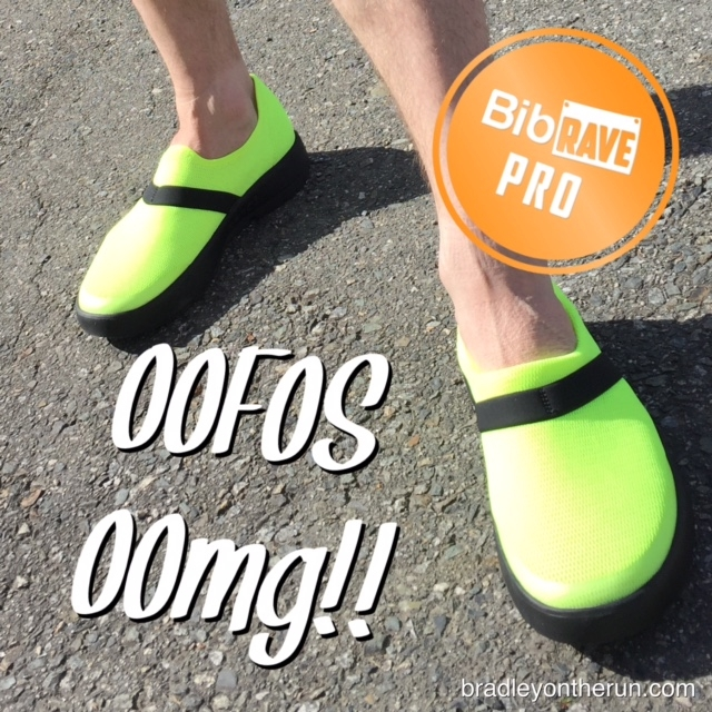 Disclaimer  I received a pair of OOFOS OOmg Recovery Shoes to review as  part of being a BibRave Pro. Learn more about becoming a BibRave Pro  (ambassador) 83b6a16d8f0
