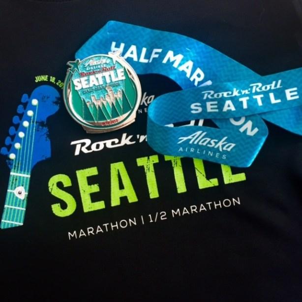 Rock n roll seattle half marathon