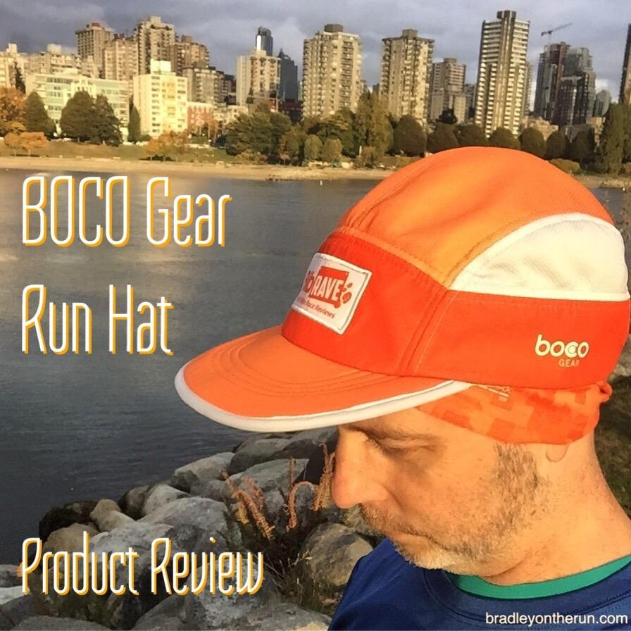 5a74388e4a1 BOCO Gear Run Hat - Product Review • Bradley on the Run