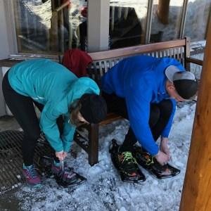 grouse snowshoe grind mountain run 2019