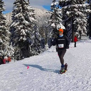 grouse snowshoe grind mountain run 2019