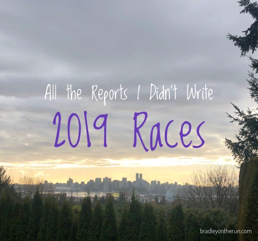 All the Reports I Didn't Write – 2019 Races