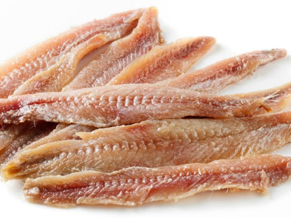 Anchovies in Garlic
