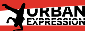 urban expression logo for website