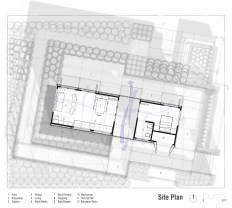 Site/Floor Plan. Image by Bradley Walters.