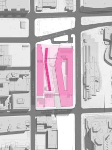Complexe culturel et administratif de Montréal Site Plan