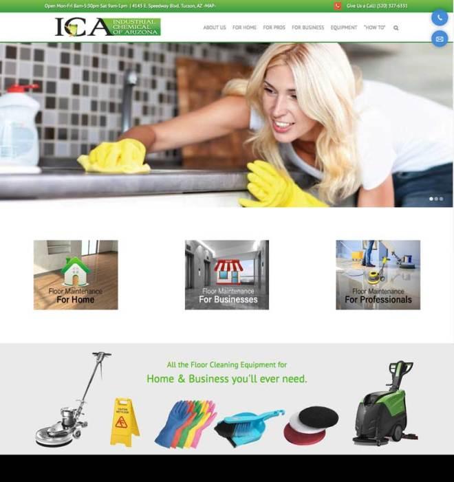 ICA website design