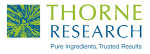 The logo for the supplement company Thorne Research