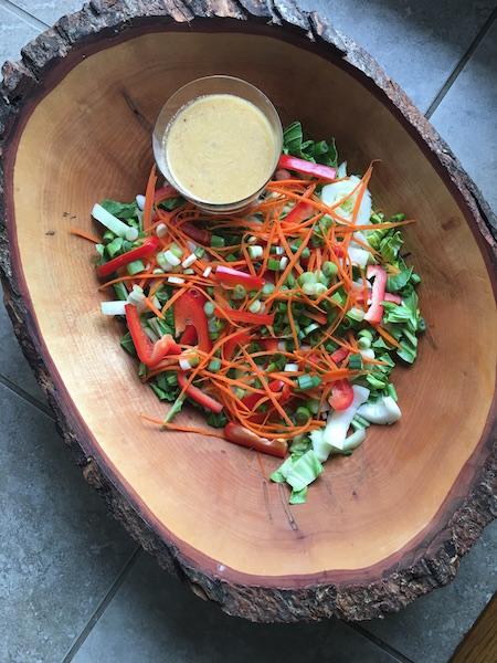 Fresh and Tasty Bok Choy Salad