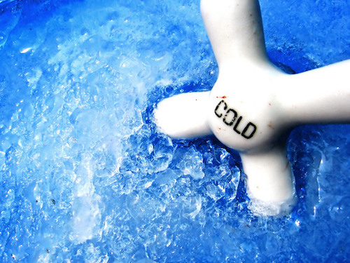 cold thermogenesis: ice water