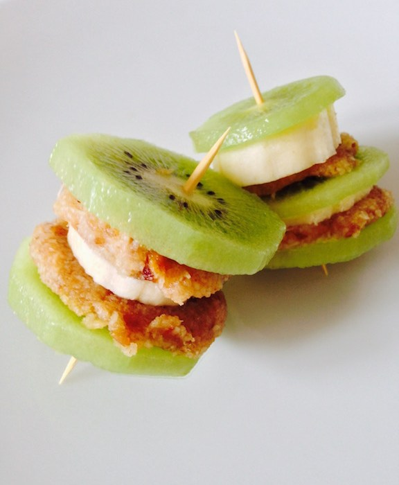 Kiwi Banana Stacks