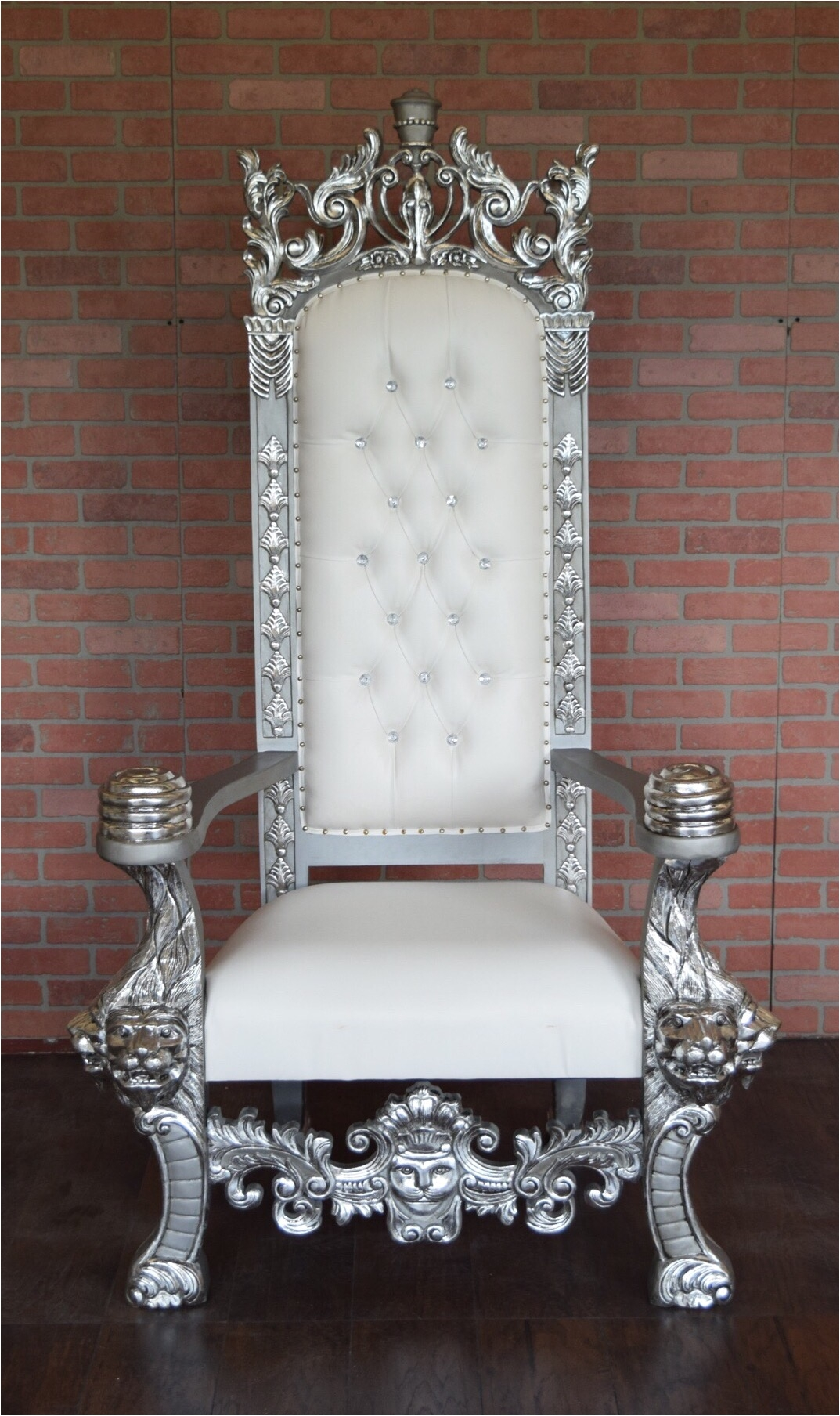 throne chairs for rent silver organza chair sashes baby shower rental nj adorable pictures of king and queen best
