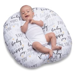 Boppy Baby Chair White Swivel Desk Chairs Target Newborn Hello Lounger Black And Gold Product