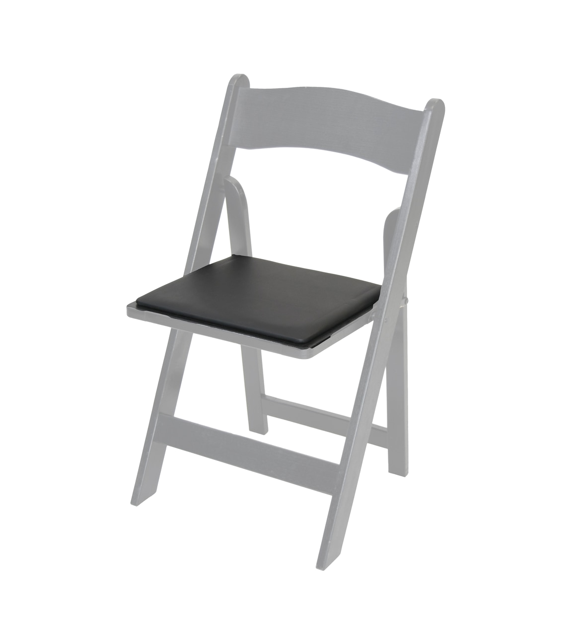 cloth padded folding chairs led table and bradshomefurnishings replacement vinyl seat pad for wood