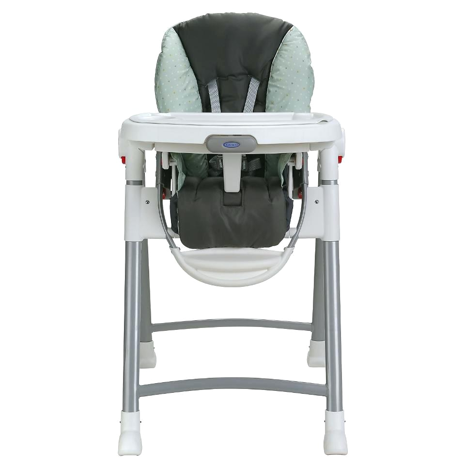 graco slim spaces high chair blue parrot covers caris folding cover wixted