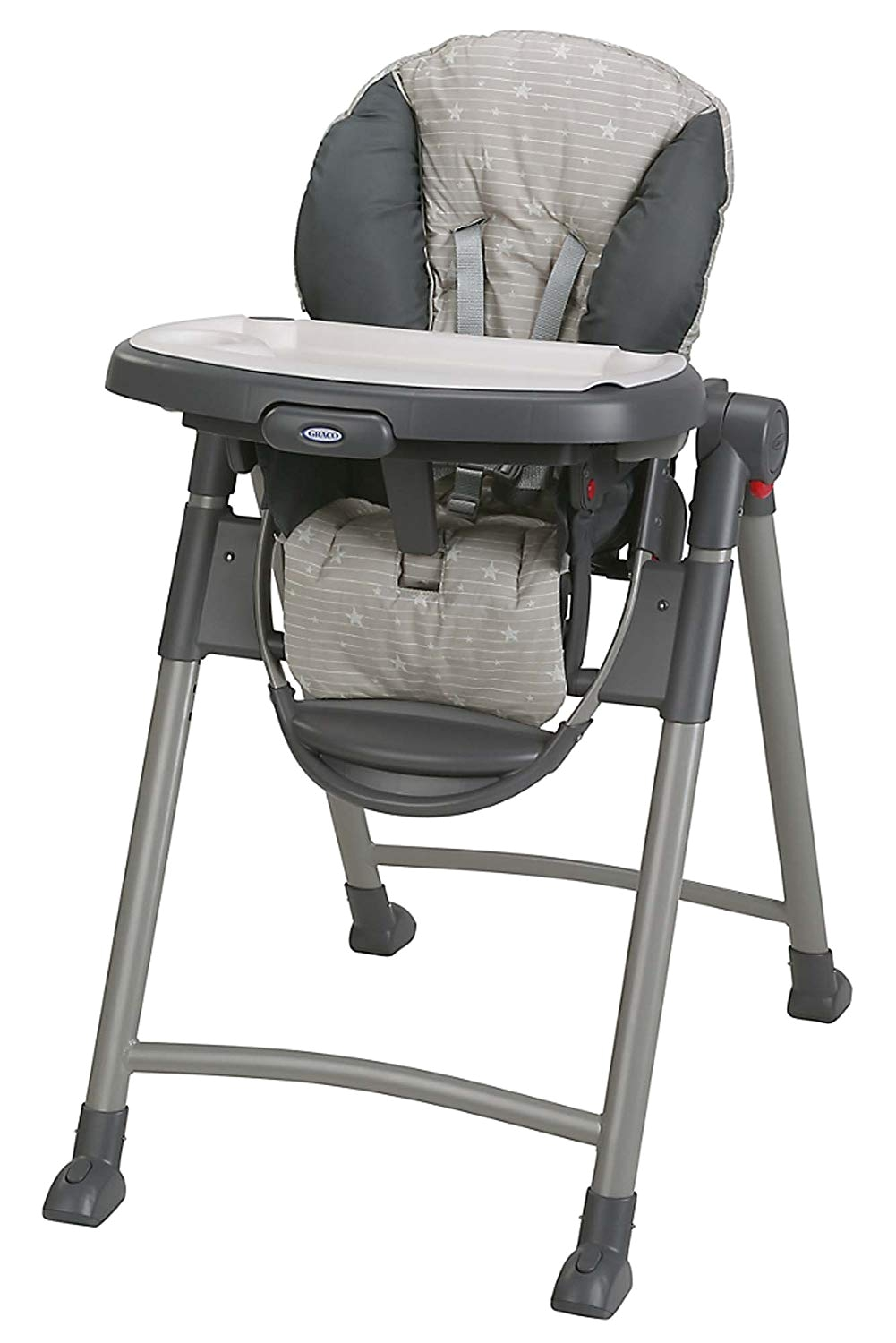 graco slim spaces high chair kids double folding manor amazon com contempo stars one size baby