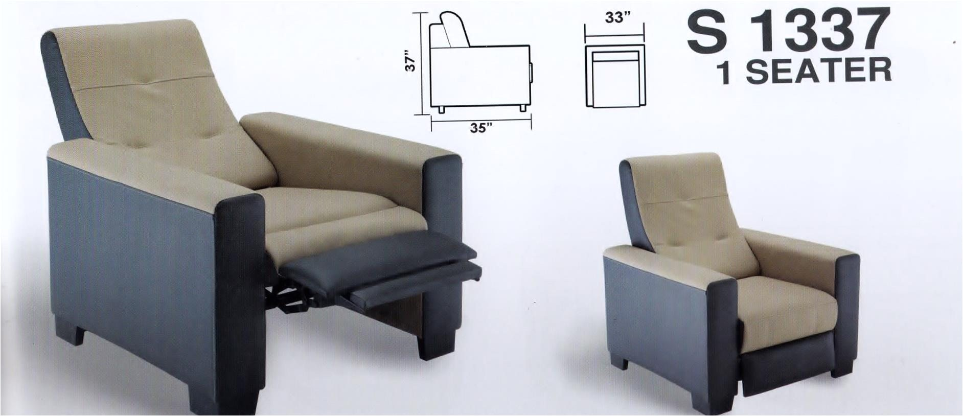 Leather Yoga Chair Stretch Sofa Relax Gorgeous