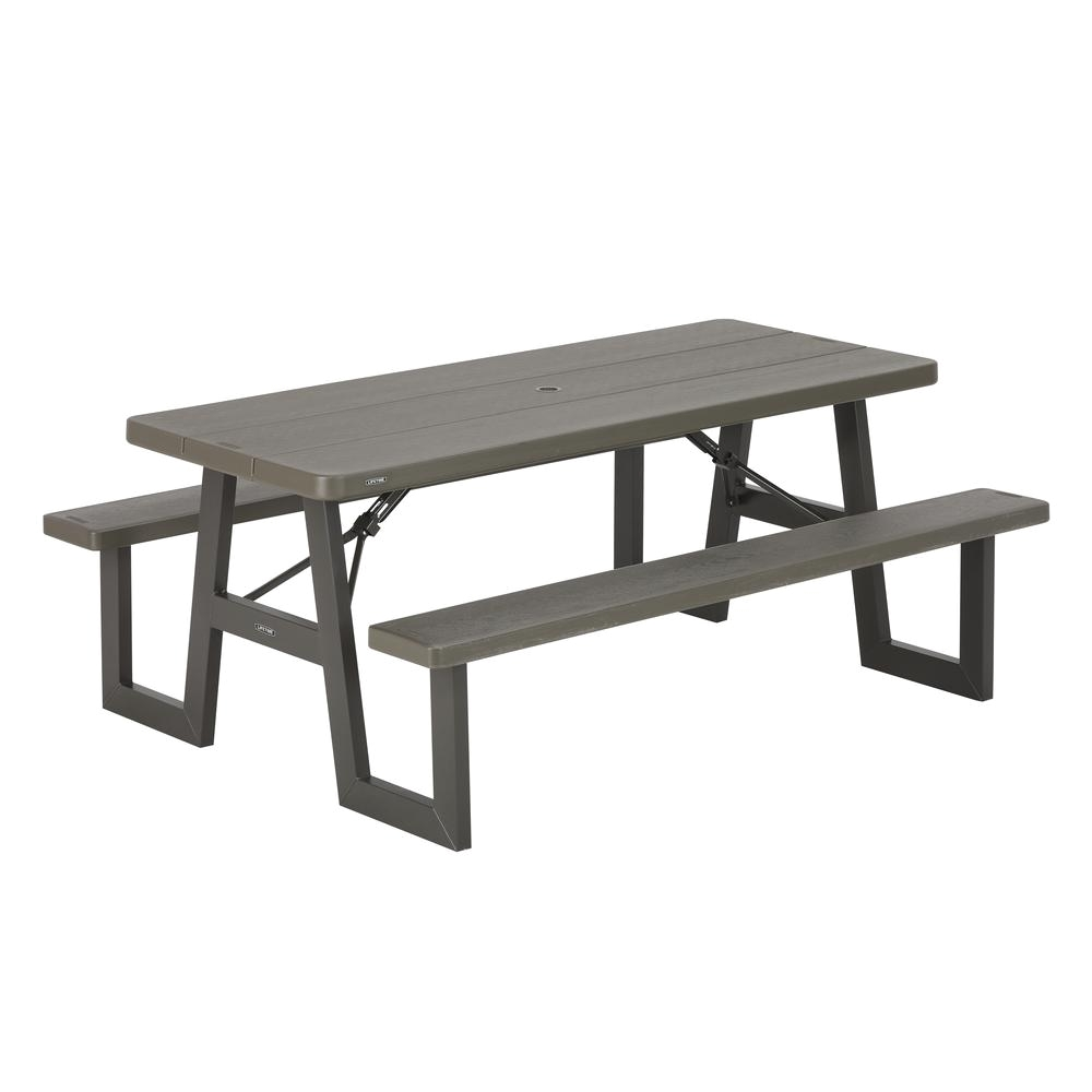 lifetime chairs and tables folding rocking canada resin picnic patio the home depot
