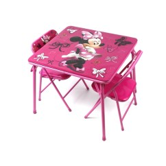 Minnie Table And Chairs Wooden High Chair With Tray Mouse Folding Toddler Name Best Of Kids Awesome Dish
