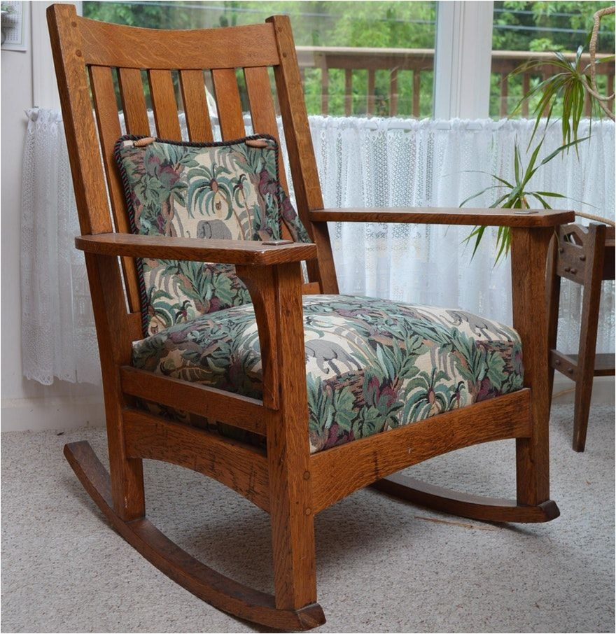 wood rocking chair styles swing the range pictures of old wooden chairs antique l j g stickley mission style oak