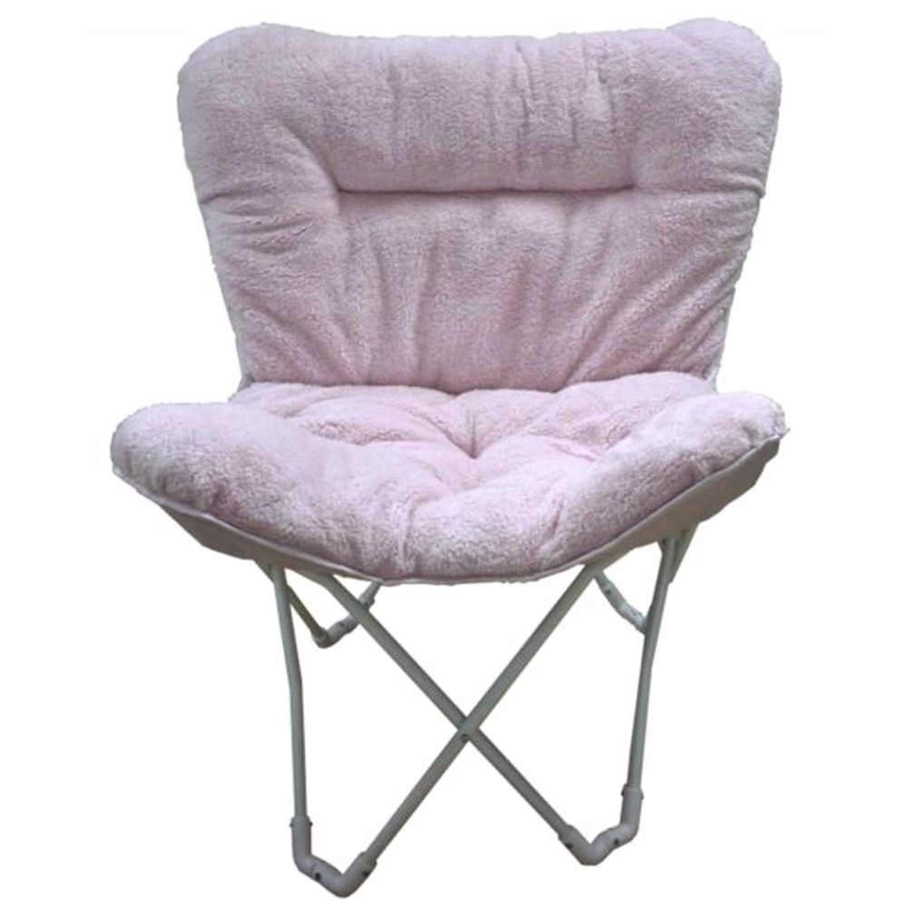 folding chair uke chords foam bed pink fluffy target plush butterfly in blush stylish relaxing