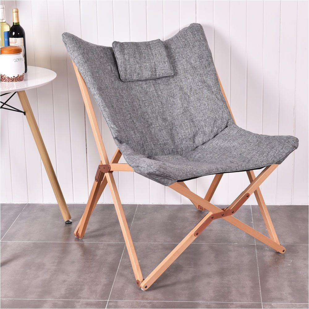 target furniture folding chairs brown barber white butterfly chair seat wood frame home office
