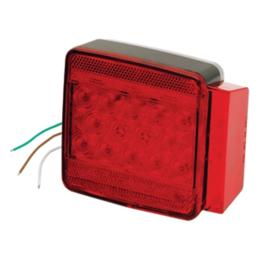 medium resolution of wesbar trailer lights wesbar amber sidemarker clearance light w 18 pigtail products