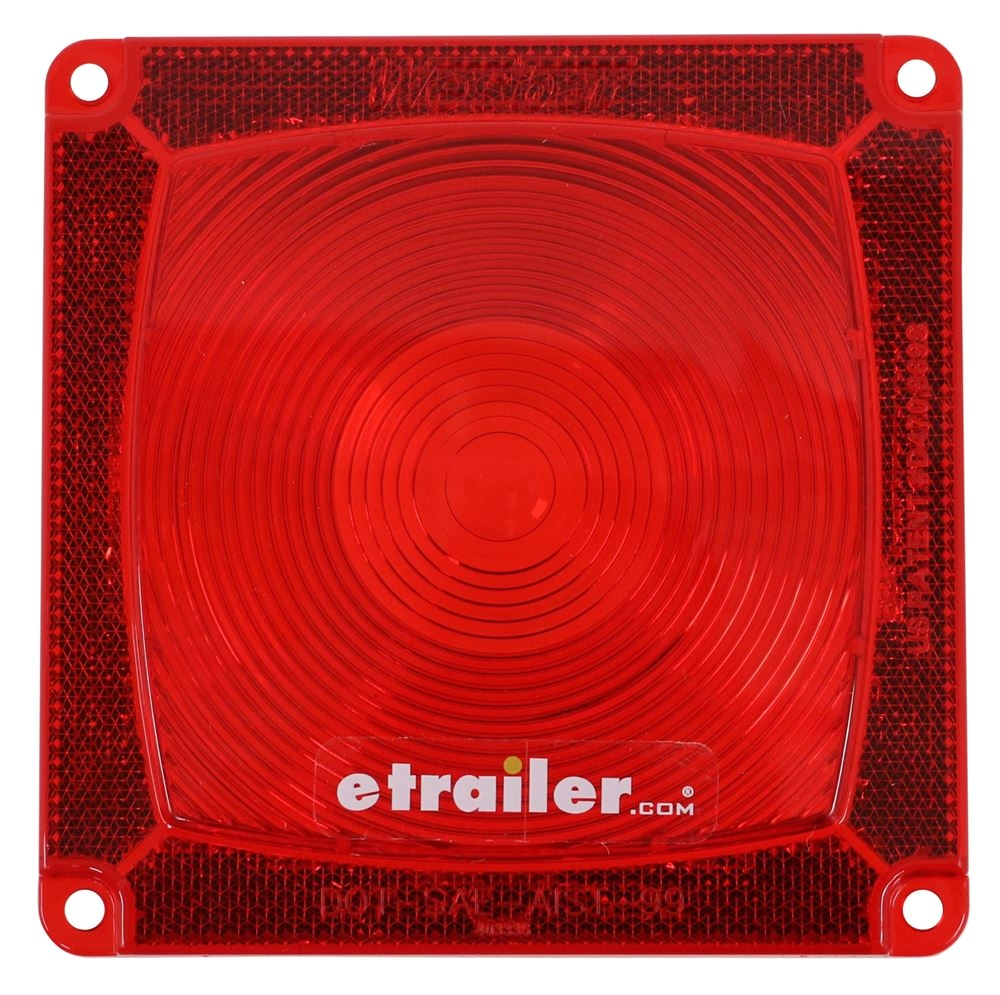 hight resolution of wesbar trailer lights wesbar red square replacement lens 3335 wesbar accessories and