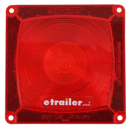 small resolution of wesbar trailer lights wesbar red square replacement lens 3335 wesbar accessories and
