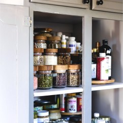 Kitchen Pantry Organization Ideas Cabinet With Trash Bin A Makeover Method
