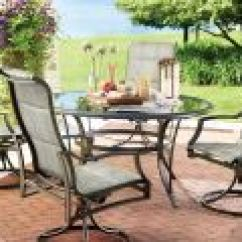 Academy Sports Patio Chairs Replacement Wood Spindles For Bradshomefurnishings Hampton Bay Statesville 5 Piece Padded Sling Dining Set With