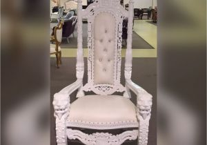 bridal shower chair rental u shaped cushions with ties baby throne nyc 50 off show sample lord raffles lion