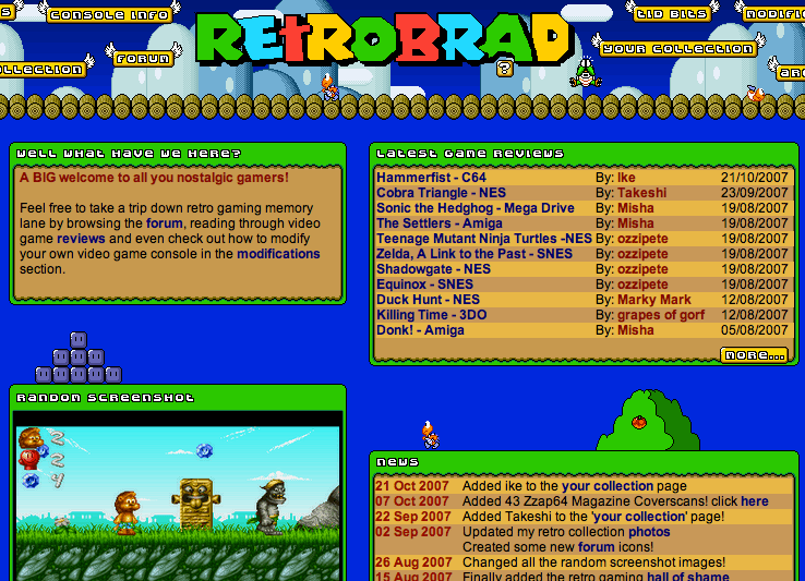 Retrobrad projects to do at home.