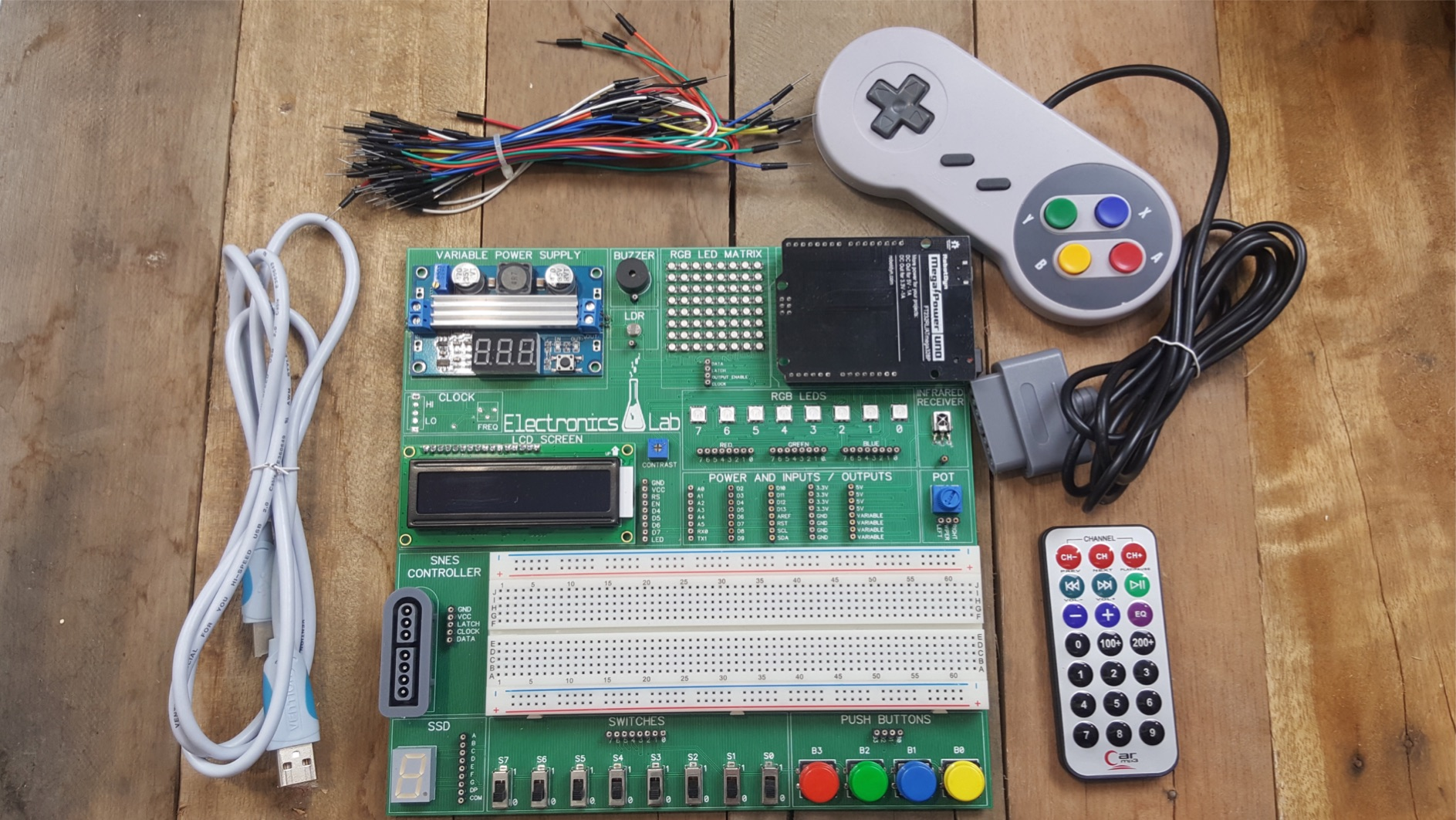 The Electronics Lab Brads Electronic Projects Circuits Kits Hobby More