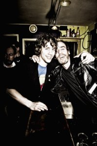 Earle Holmes and Johnny Borrell