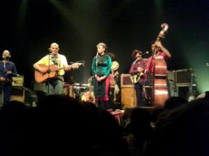 Wayne Standley and Moriarty at the Cigale in 2013